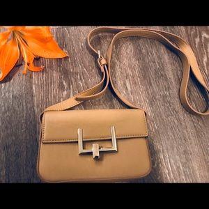 Forever 21 Small Camel Crossbody Bag
